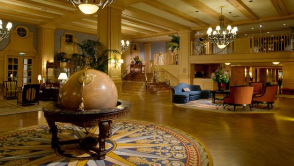 Disney's Yacht Club Resort - Lobby - Photo Credit Walt Disney World