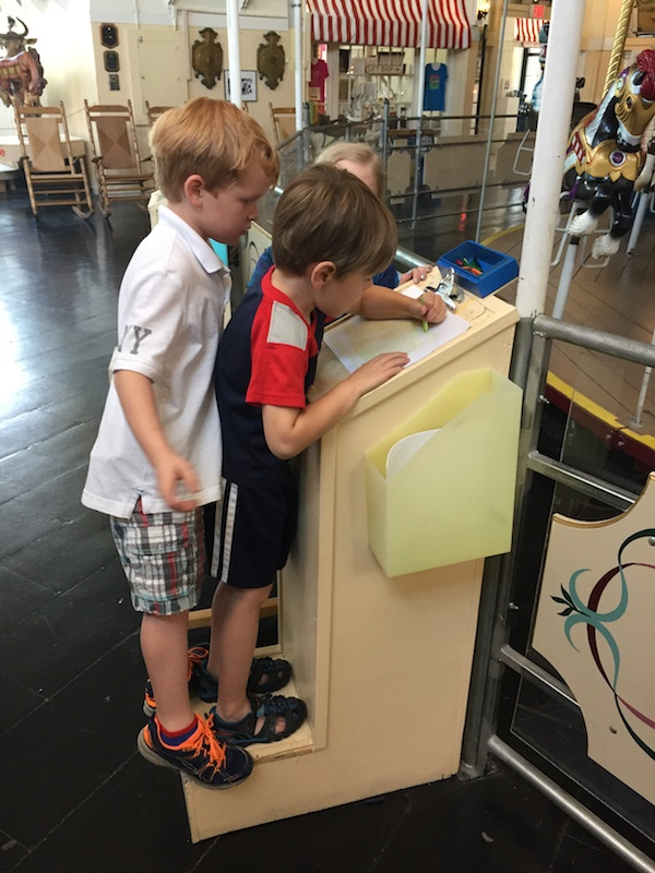 Kids tracing
