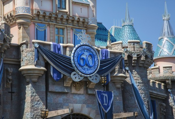 Sleeping Beauty Castle - 60th Anniversary