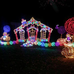 Rock City Lights Up Lookout Mountain at Christmas