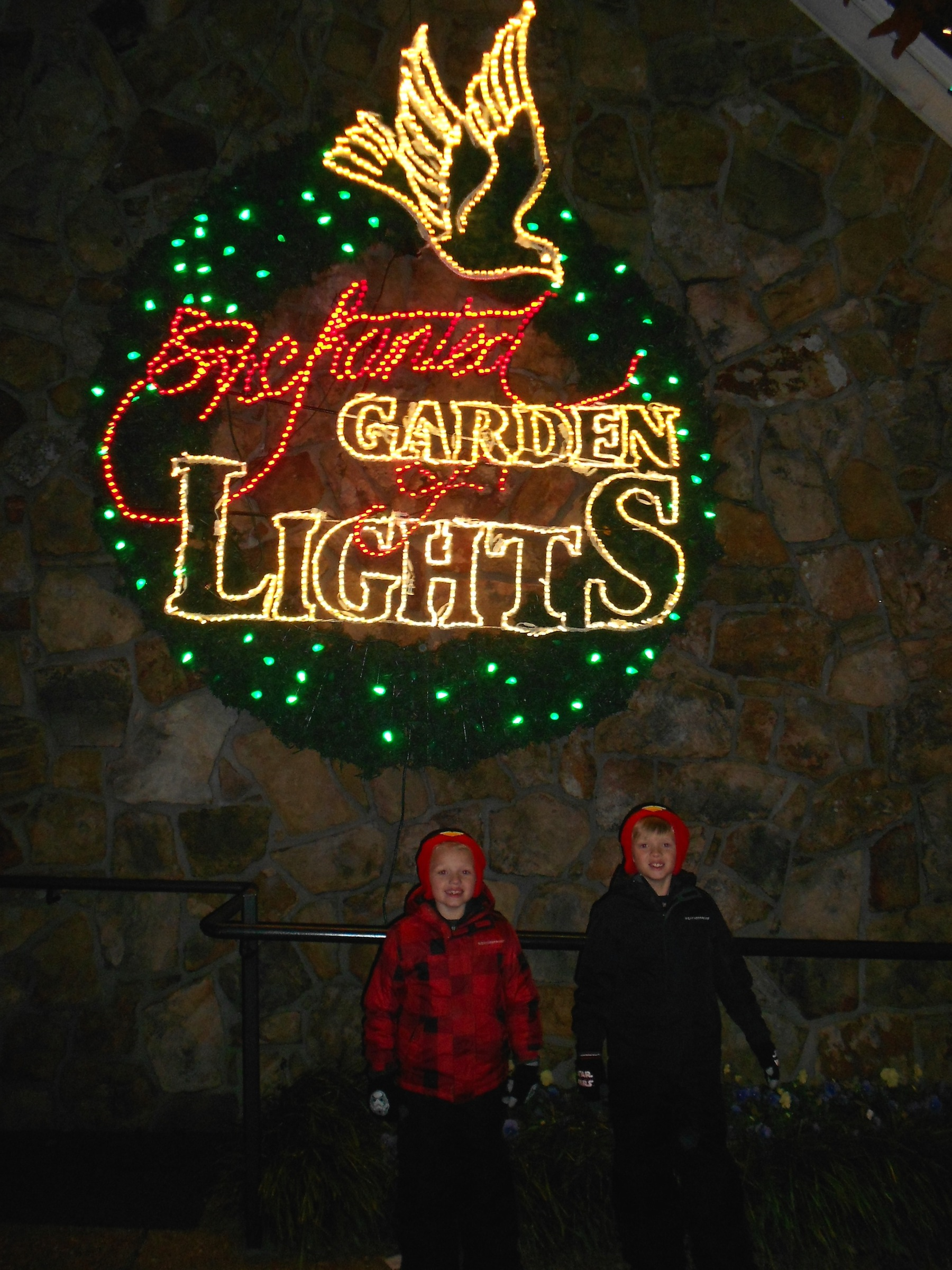 Rock City Lights Up Lookout Mountain at Christmas - This Girl Travels