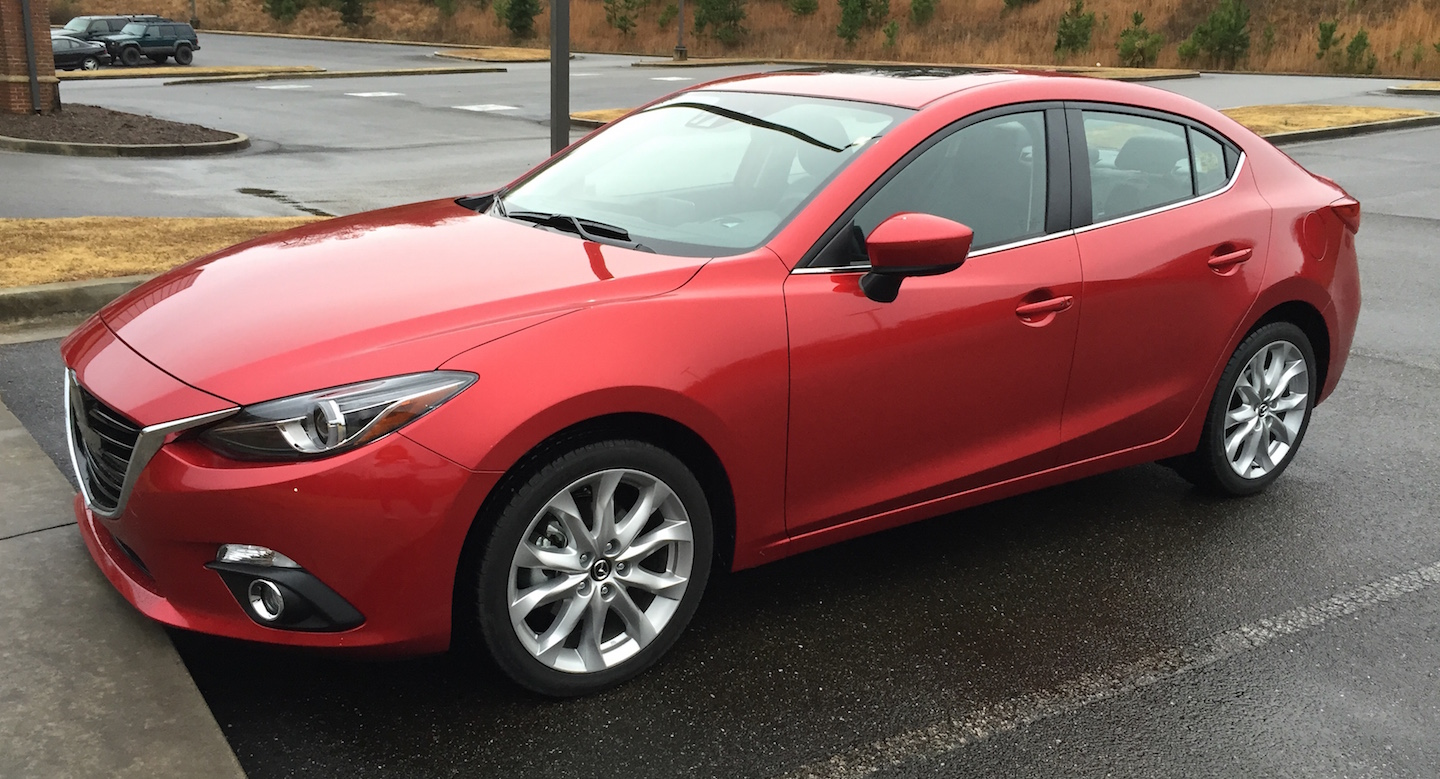 During Thanksgiving Week I Had The Opportunity To Drive 2016 Mazda 3 S Grand Touring Vehicle Which Put Through Hectic Holiday With Family Visits