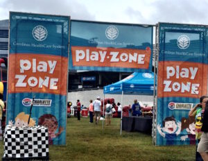 Play Zone signs